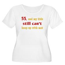 Witty 55th Birthday T-Shirt