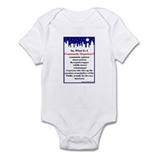 """Community Organizer?"" Infant Bodysuit"