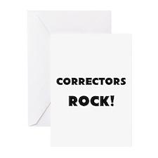 Correctors ROCK Greeting Cards (Pk of 10)