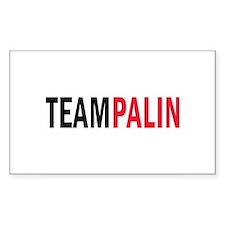 Palin Rectangle Decal