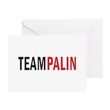 Palin Greeting Card