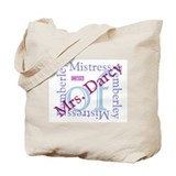 bennetgirls Mistress of Pemberley two sided Bag