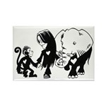 Gillian and Friends Rectangle Magnet