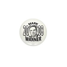 Sample Mark Warner 2008 Mini Button