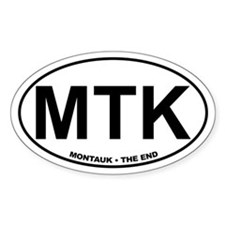 MTK Montauk The End Decal