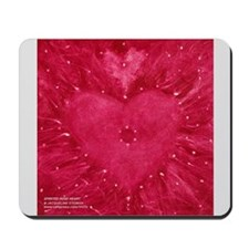 SPIRITED ROSE HEART Mousepad