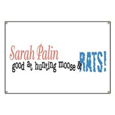 Sarah Palin Hunter Banner