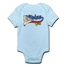 Filipino Girl Infant Bodysuit