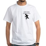 2-sided Cheaper Than Gasoline White T-Shirt