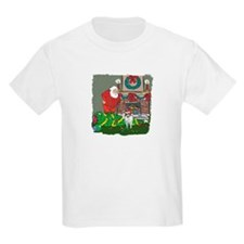 Santa's Helper Sheltie T-Shirt