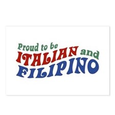 Proud to be Italian and Filipino Postcards (Packag