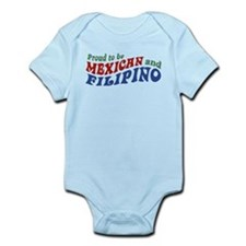 Proud to be Mexican and Filipino Infant Bodysuit