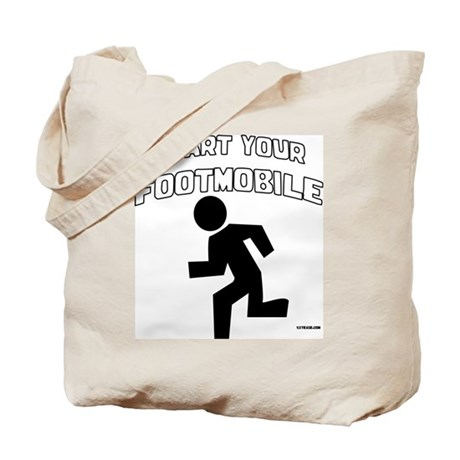 Footmobile walking/running Tote Bag
