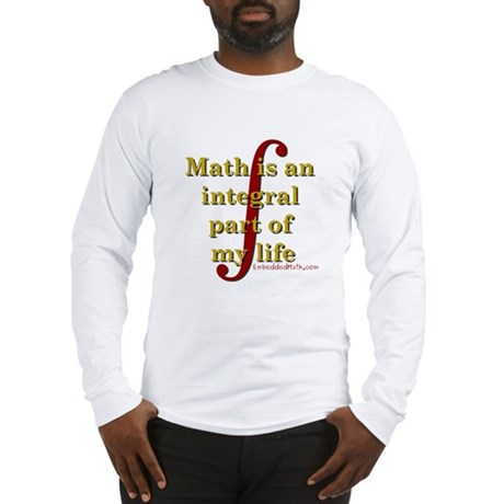 Math is integral Long Sleeve T-Shirt