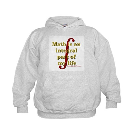 Math is integral Kids Hoodie