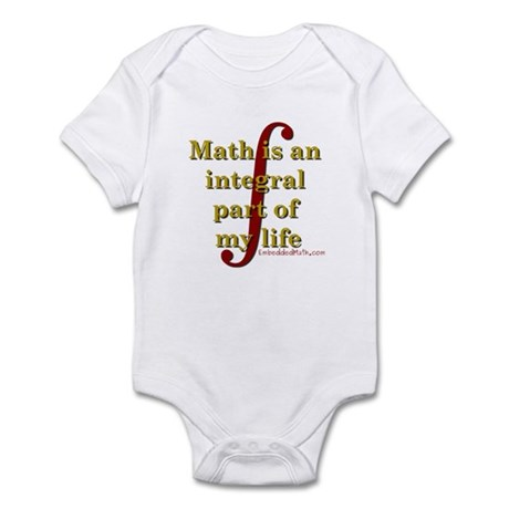 Math is integral Infant Bodysuit