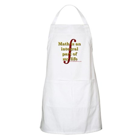 Math is integral BBQ Apron