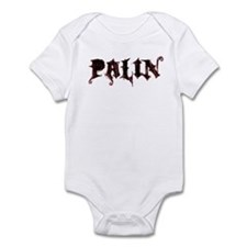 Palin Grunge Logo Infant Bodysuit