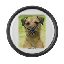 Border Terrier 8W44D-23 Large Wall Clock