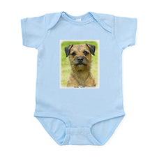 Border Terrier 8W44D-23 Infant Bodysuit