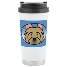 Anime Australian Terrier Ceramic Travel Mug
