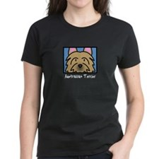 Anime Australian Terrier Women's Dark Tee Shirt