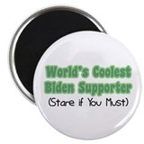 "World's Coolest Biden Supporter 2.25"" Magnet (100"