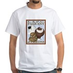 Pigeon Pageant2 White T-Shirt