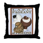 Pigeon Pageant2 Throw Pillow