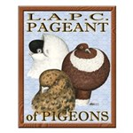 Pigeon Pageant2 Small Poster