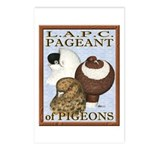 Pigeon Pageant2 Postcards (Package of 8)