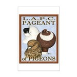 Pigeon Pageant2 Mini Poster Print