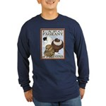 Pigeon Pageant2 Long Sleeve Dark T-Shirt
