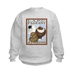 Pigeon Pageant2 Kids Sweatshirt