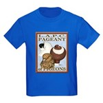 Pigeon Pageant2 Kids Dark T-Shirt