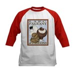 Pigeon Pageant2 Kids Baseball Jersey