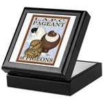 Pigeon Pageant2 Keepsake Box