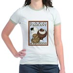 Pigeon Pageant2 Jr. Ringer T-Shirt