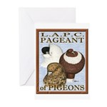 Pigeon Pageant2 Greeting Cards (Pk of 20)