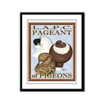Pigeon Pageant2 Framed Panel Print