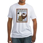Pigeon Pageant2 Fitted T-Shirt