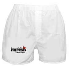 Somebody In the Philippines Loves Me Boxer Shorts