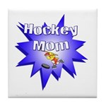 Hockey Mom! Tile Coaster
