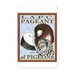 Pigeon Pageant1 Mini Poster Print