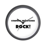 Company Secretaries ROCK Wall Clock