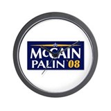 MCCAIN-PALIN 08 Wall Clock