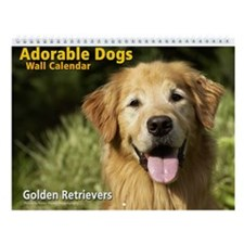 Adorable Golden Retrievers Calendar