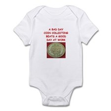 coin collector Infant Bodysuit