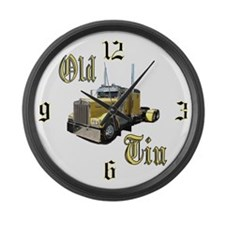 Old Tin Large Wall Clock