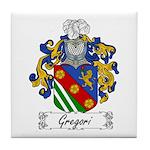 Gregori Family Crest Tile Coaster